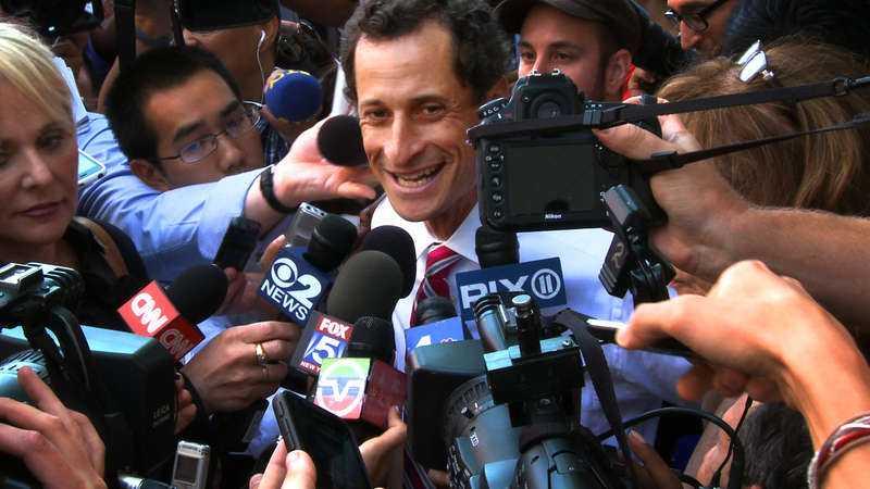 """Anthony Weiner i filmen """"Weiner""""."""