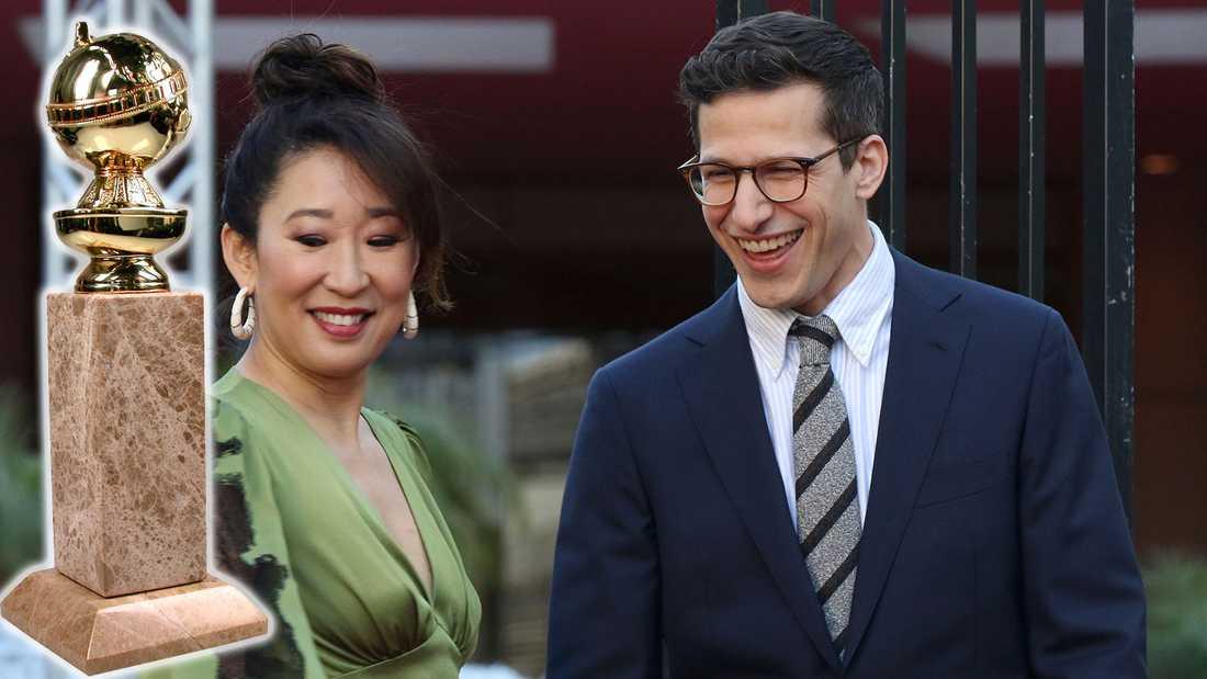 Sandra Oh och Andy Samberg leder årets gala.