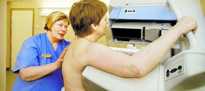 Med avgiftsfri mammografi hoppas debattören att fler gör undersökningen mer regelbundet.