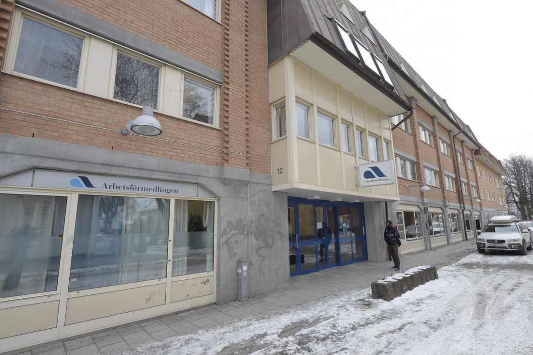 Borlänge centrum. Stadens stadskärna har röstats fram som landets fulaste. Arkivbild.