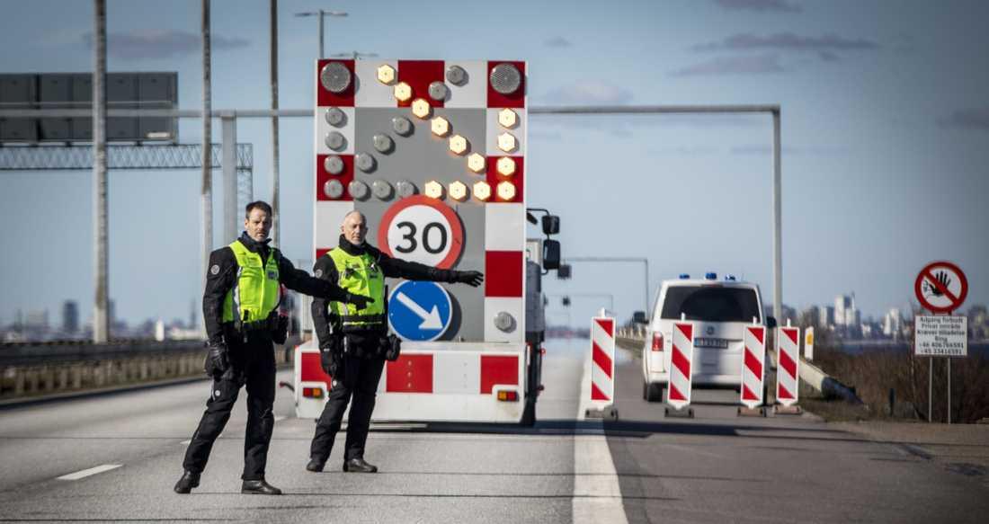 Danska gränskontrollanter