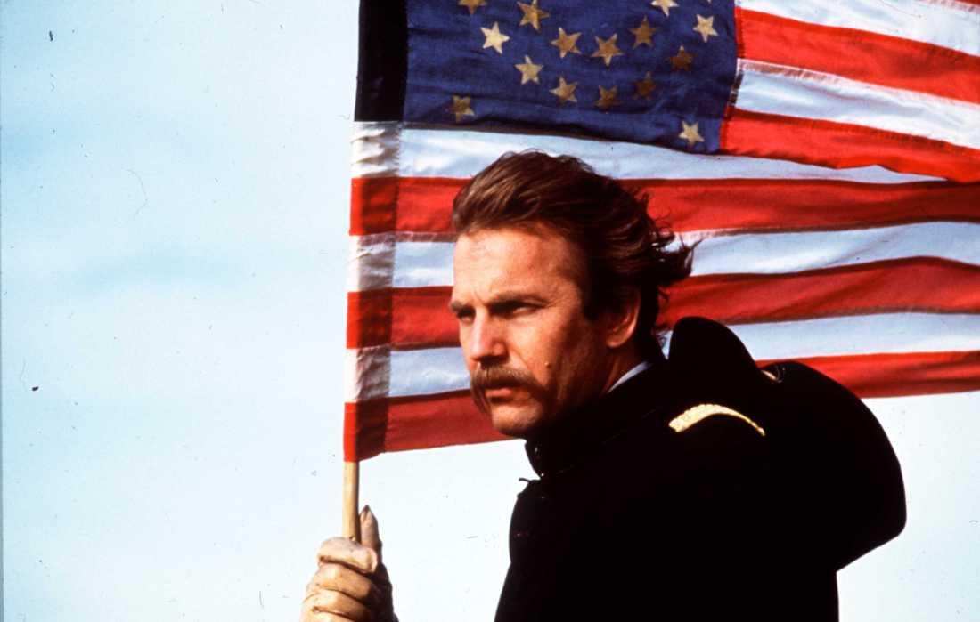 Kevin Costner i vinnarfilmen.