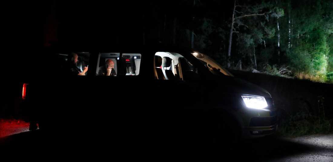 Polispådrag i norra Uppland efter en försvunnen kvinna.