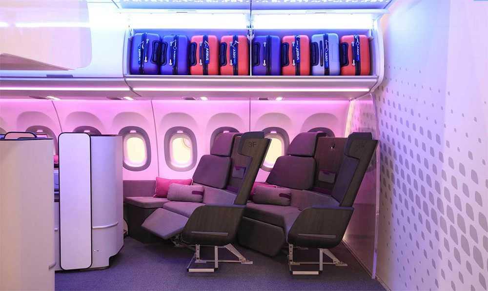 Snart kan du du få en hel soffa på flyget – och förvandla den till säng när du blir sömnig.