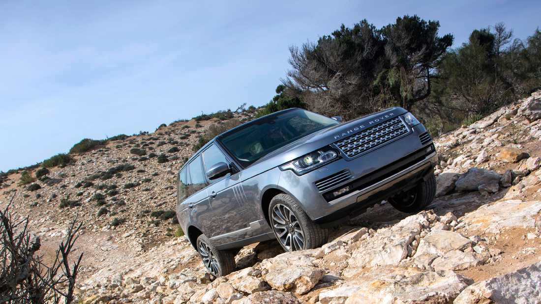 Range Rover Foto: RANGE ROVER