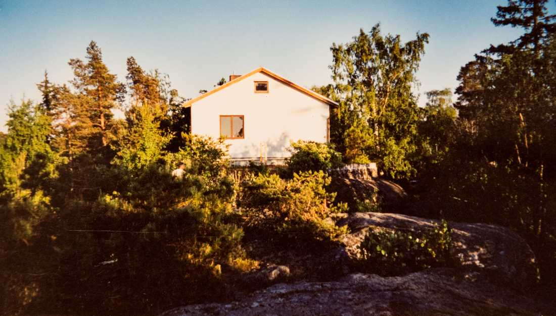 KGB-huset i Tyresö.
