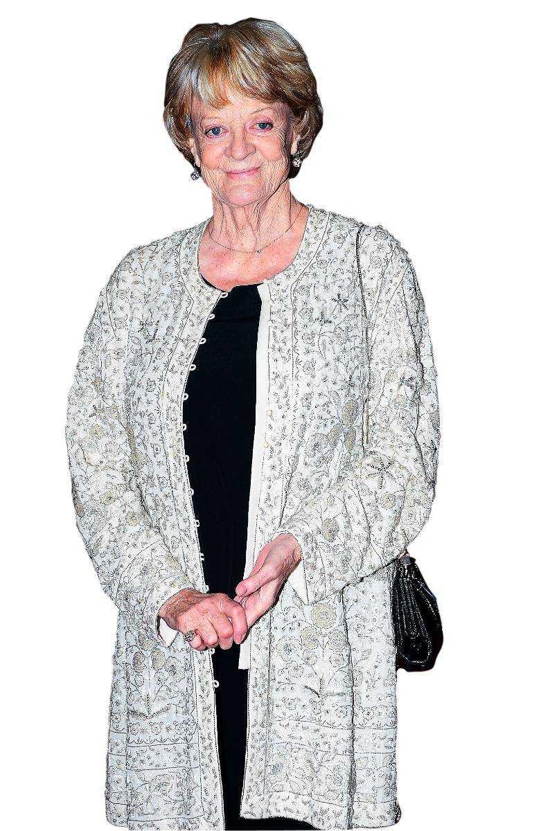 """Maggie Smith gör succé i """"Downton Abbey""""."""