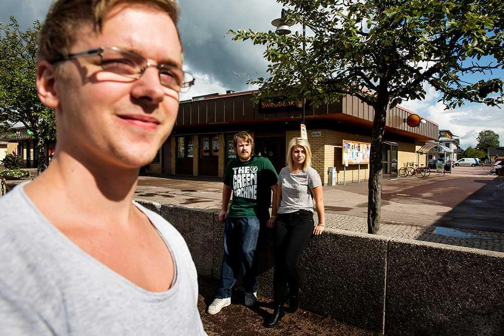 Ronny Jörstad, 23, Tobias Björkman, 22 och Jennika Jernberg, 24.