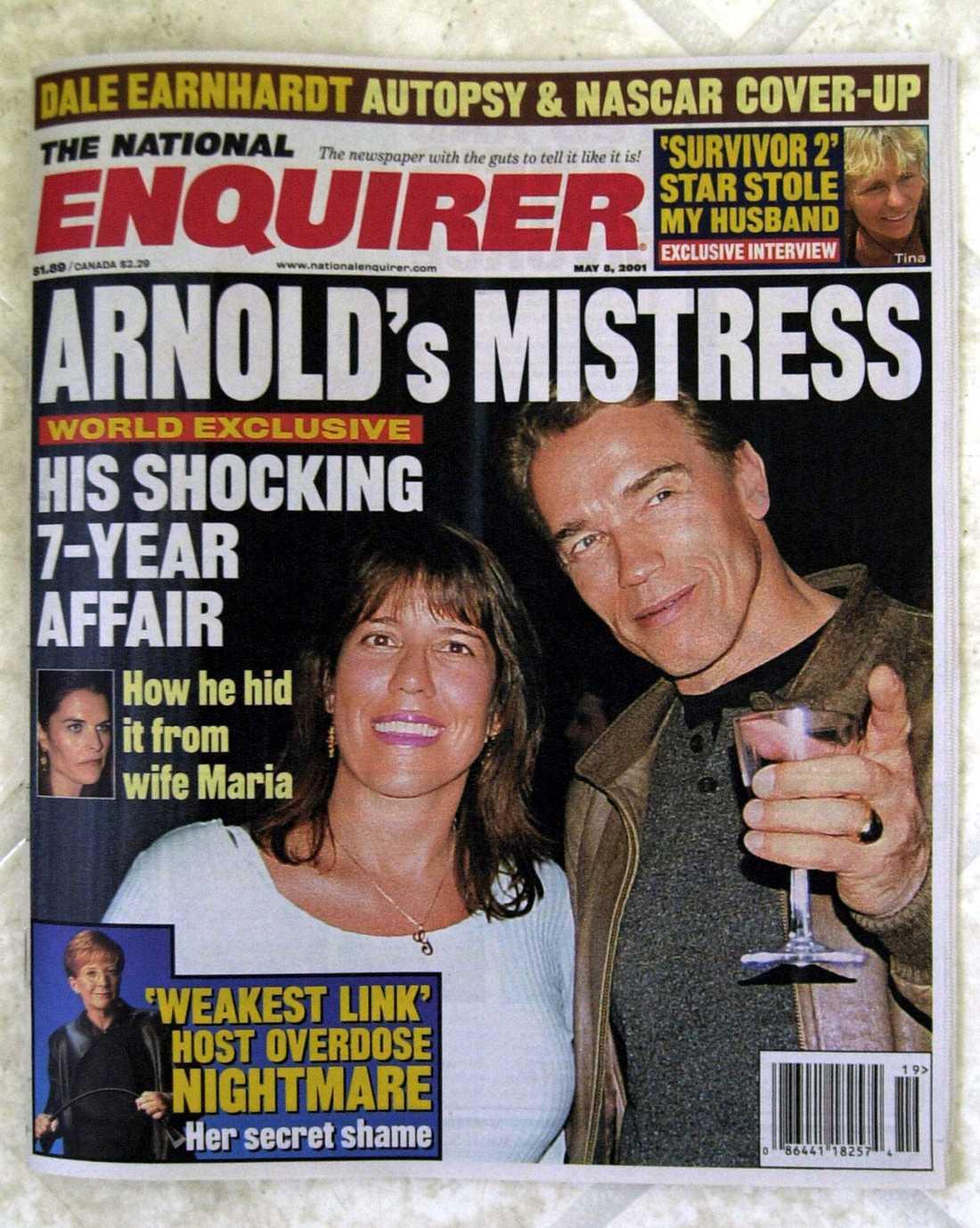 """Gigi Goyette säger sig ha haft en affär med Arnold Schwarzenegger. """"Hon vill bara tjäna pengar"""", hävdar Arnolds advokat."""