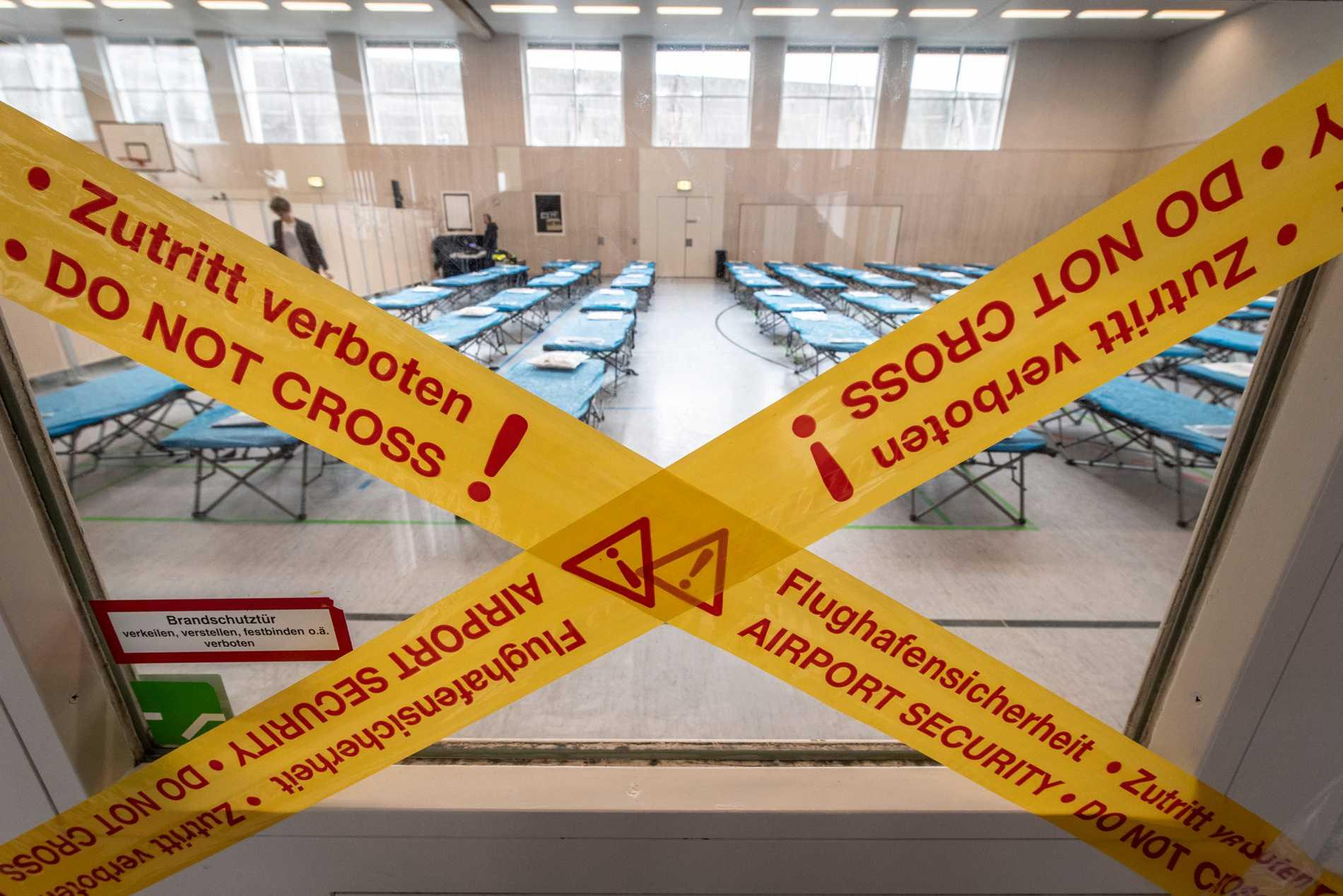 Sedan viruset nådde Italien har börsen visat röda siffror.