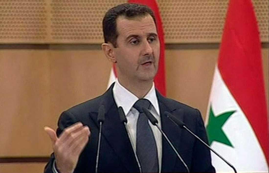 Syriens president Bashar al-Assad