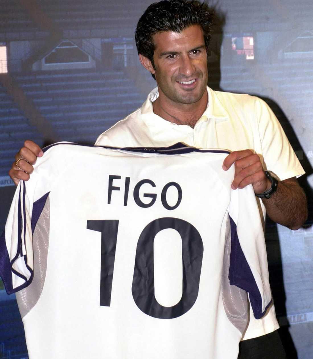 10. Luis Figo, 41, Portugal.