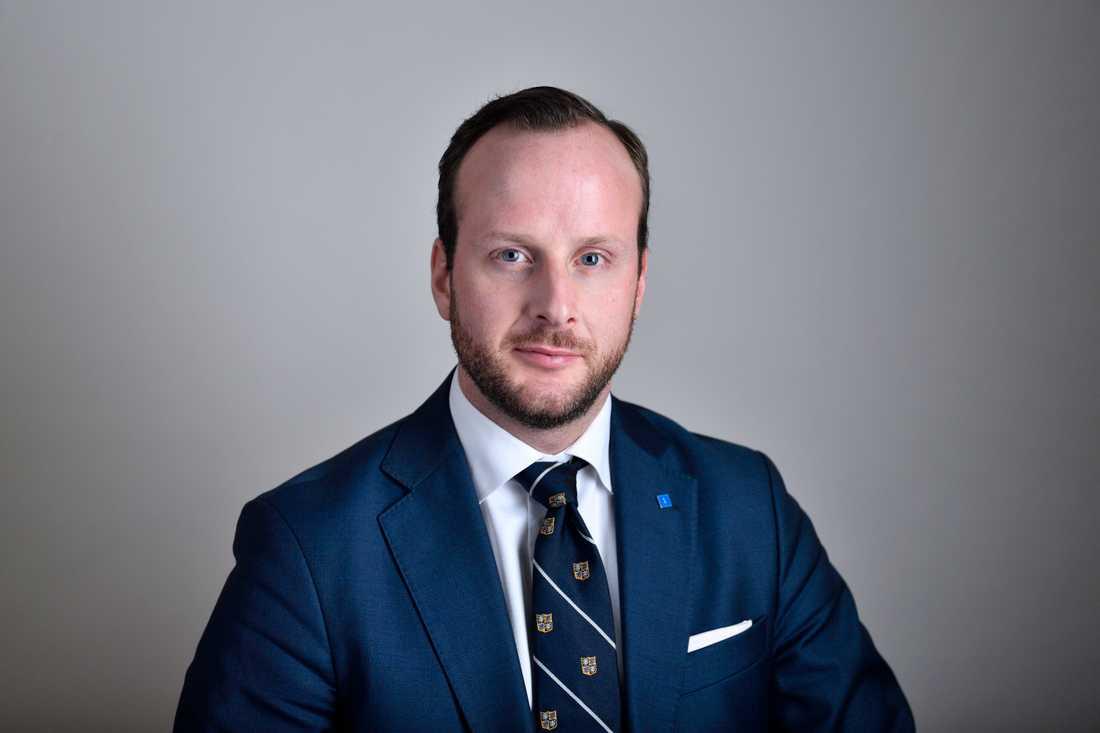 Christian Carlsson, ordförande för KD i Stockholms stad.