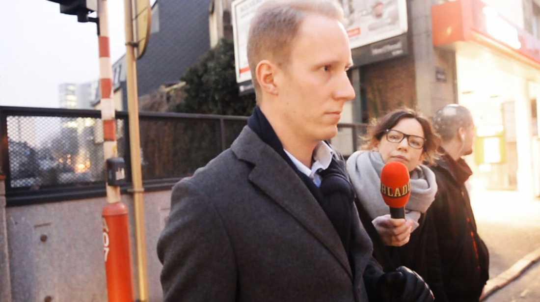 Joel Ankar, medarbetare till EU-parlamentarikern Kristina Winberg (SD) i Bryssel.