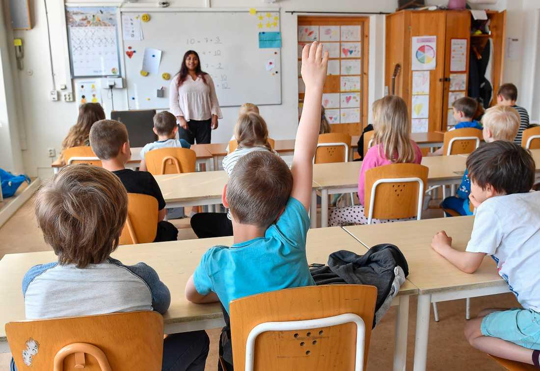 Många lärare dokumenterar för säkerhets skull, ifall föräldrar skulle ifrågasätta deras beslut. Arkivbild.