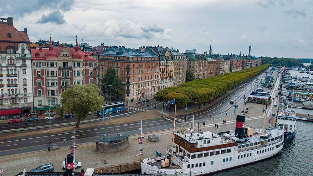 Yxattacken ägde rum på Östermalm i Stockholm.