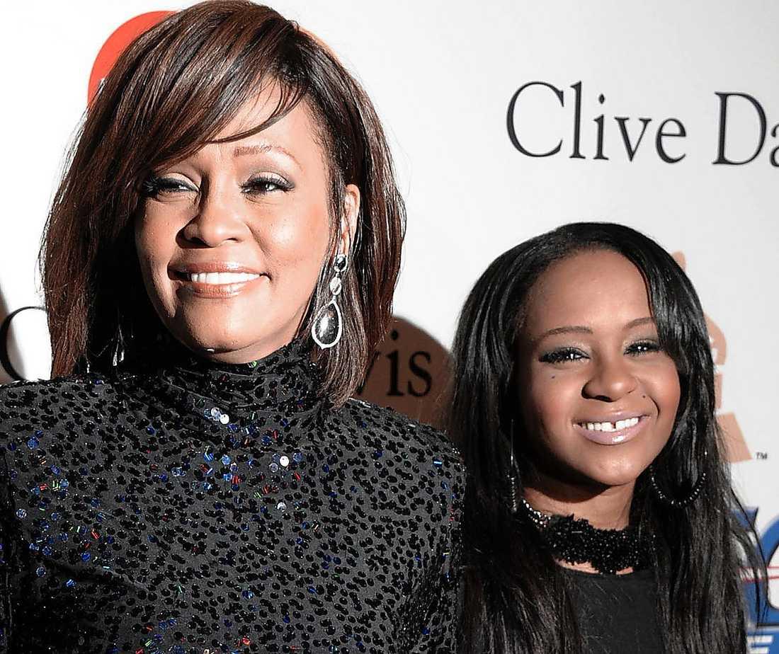FICK ETT BARN  1993 födde Whitney Houston dottern Bobbi Kristina.