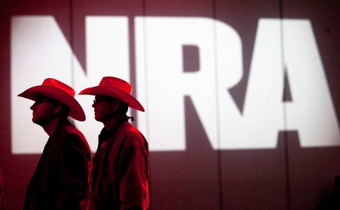 NRA anser att San Franciscos terrorstämpel kränker organisationens yttrandefrihet. Arkivbild.