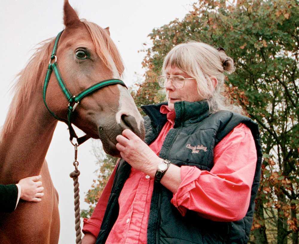 Gunilla Wolde blev 75 år gammal