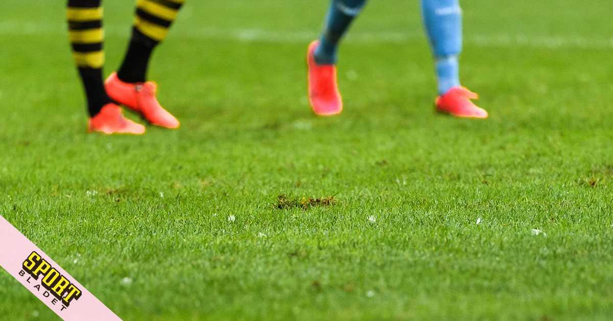 AIK förvånade över den dåliga gräsmattan