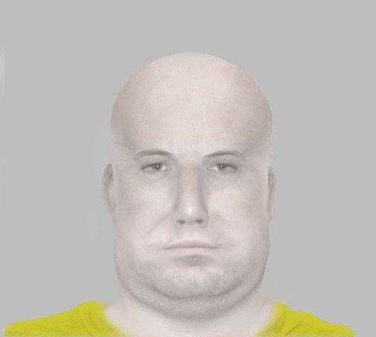 Polisen släpper fantombild på misstänkt rånare