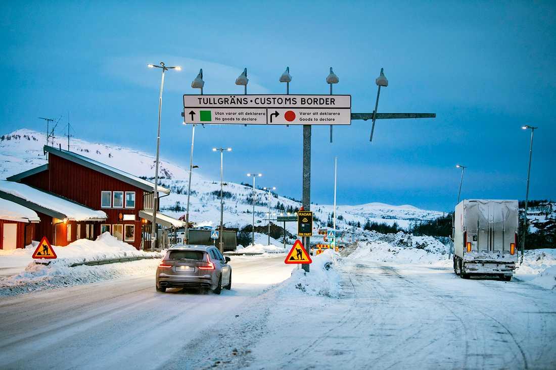 Uteblivna norrmän har slagit hårt mot handeln i Storlien.
