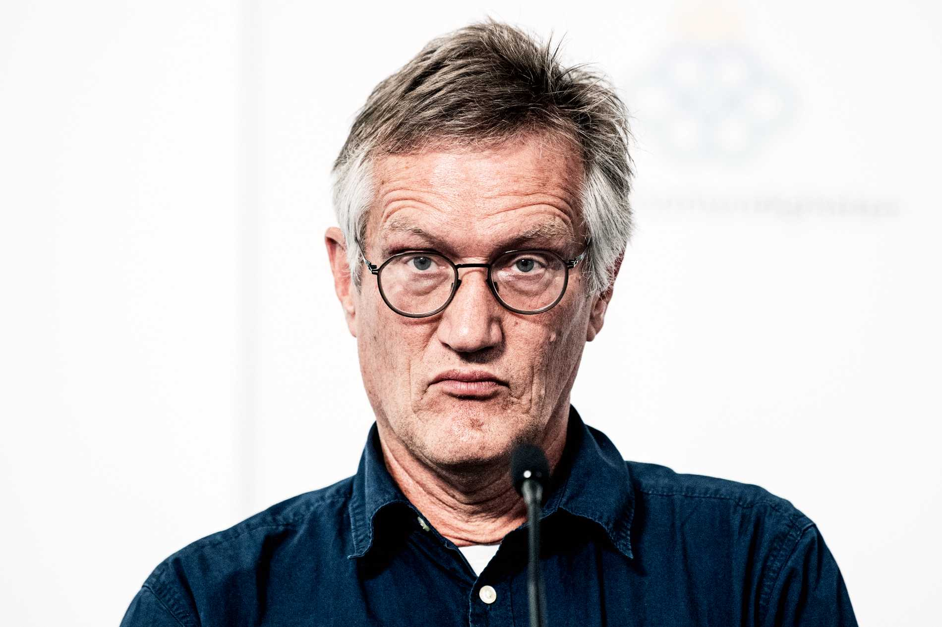 """Enligt Folkhälsomyndigheten har Tegnell """"gallrat"""" flera av de mejl som Aftonbladet har begärt ut."""