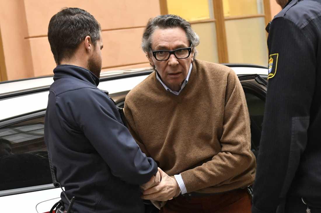 """""""Kulturprofilen"""" Jean Claude Arnault dömdes nyligen till fängelse för två fall av våldtäkt."""