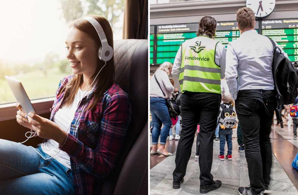 Nettbuss Bus4You har nöjdast kunder – SJ minst nöjda.