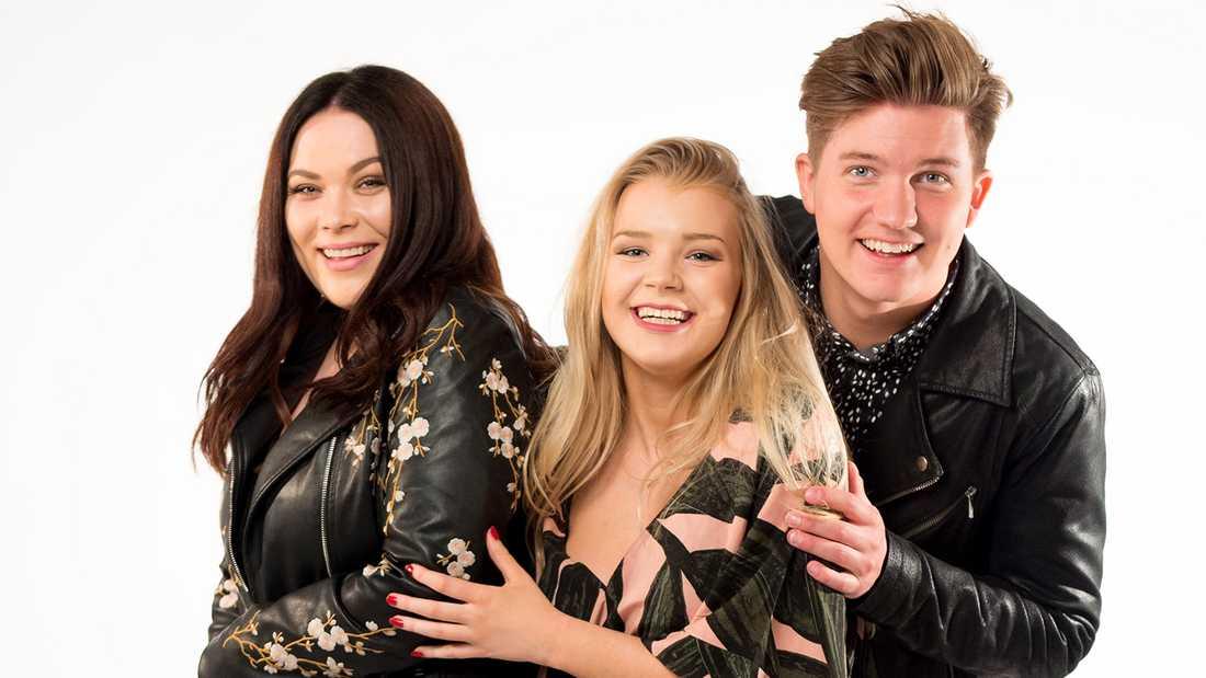 """Rockbjörnen-galan den 15 augusti leds av Nöjesbladets Frida Söderlund, tillsammans med youtubeprofilerna Kristina """"Keyyo"""" Petrushina och Daniel Norberg."""
