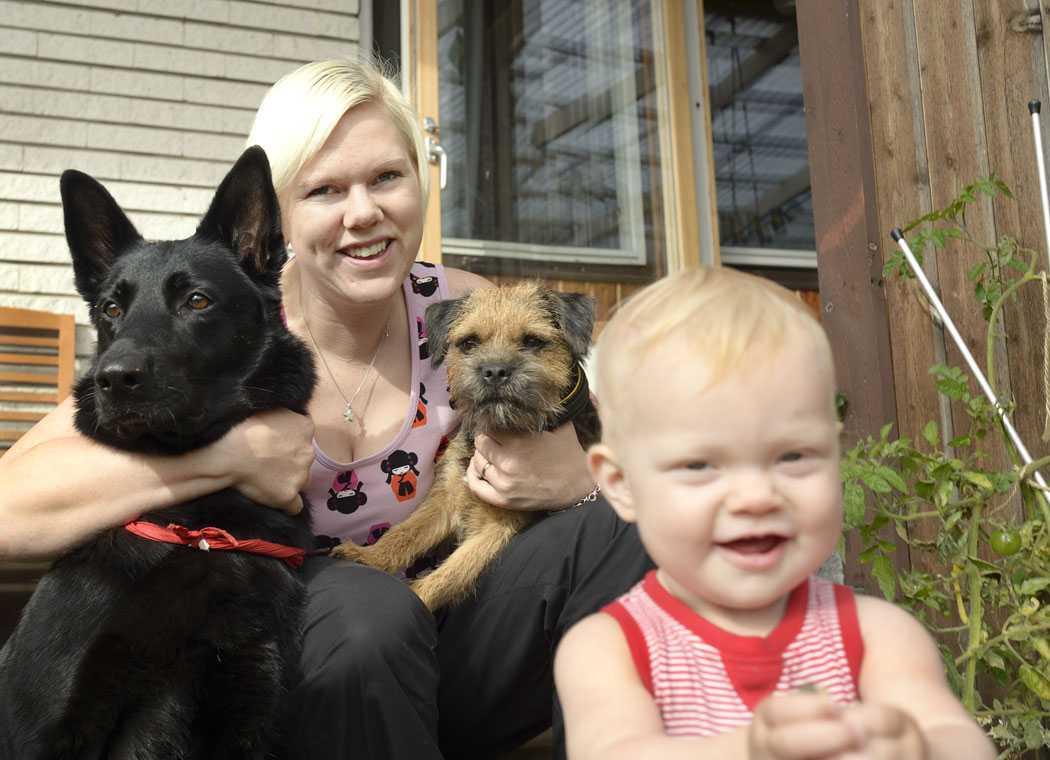 – När man har hund har man alltid världens bästa vän, säger Sofia Eriksson.