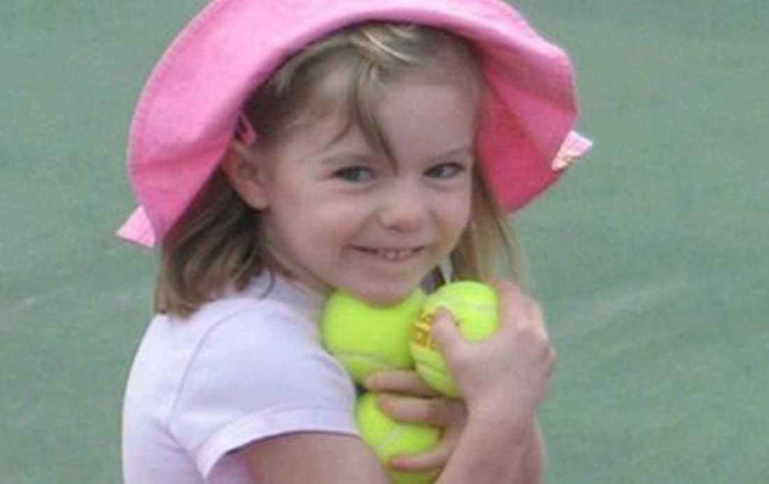 Madeleine McCann försvann i maj 2007.