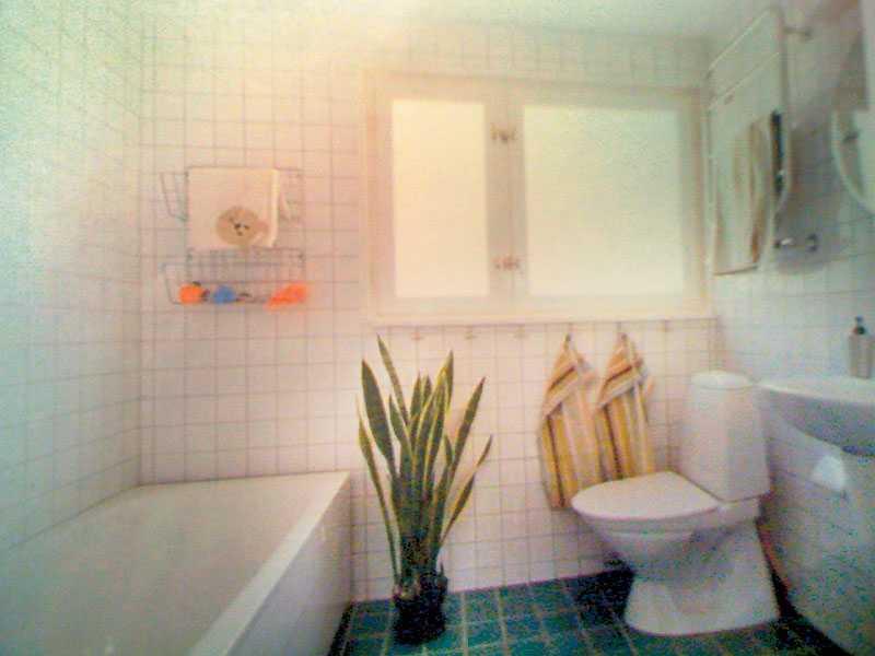 Badrummet innan renoveringen.