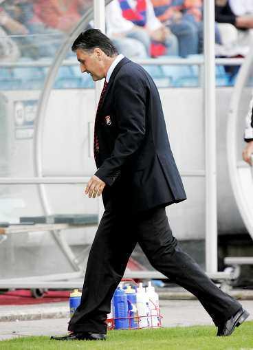 PÅ VÄG UT, ZORAN? Örgryte förlorade igen och laget är när nedflyttning. Får Zoran Lukic fortsatt förtroende?