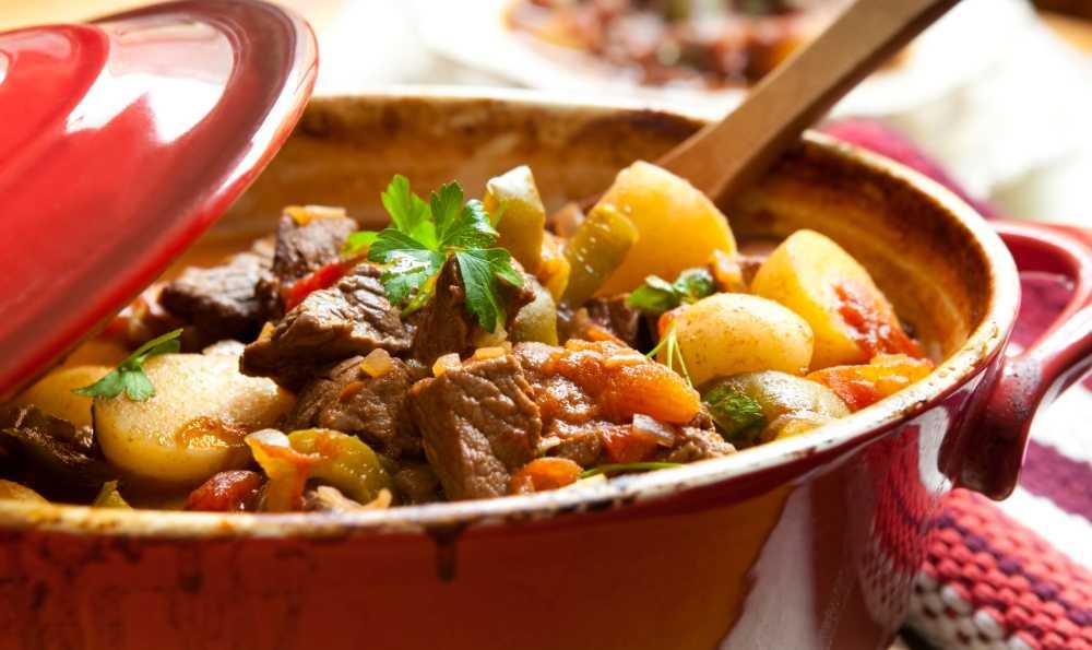 Mustig köttgryta – mättande och gott.