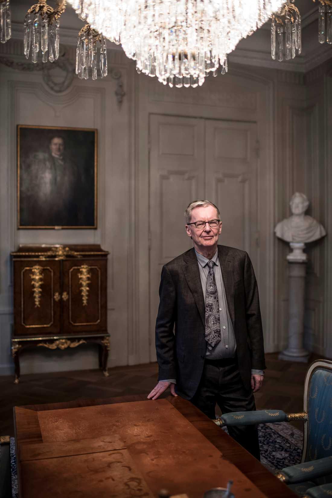 Anders Olsson, Svenska Akademiens ständige sekreterare.