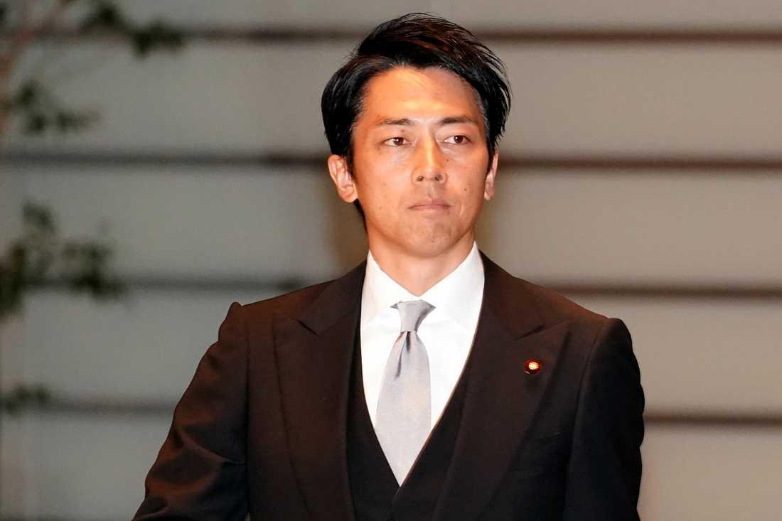 Japans nya miljöminister Shinjiro Koizumi.