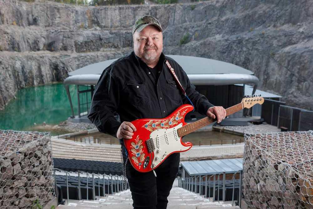 Kalle Moraeus är en av artisterna som håller konsert i Dalhalla i sommar.