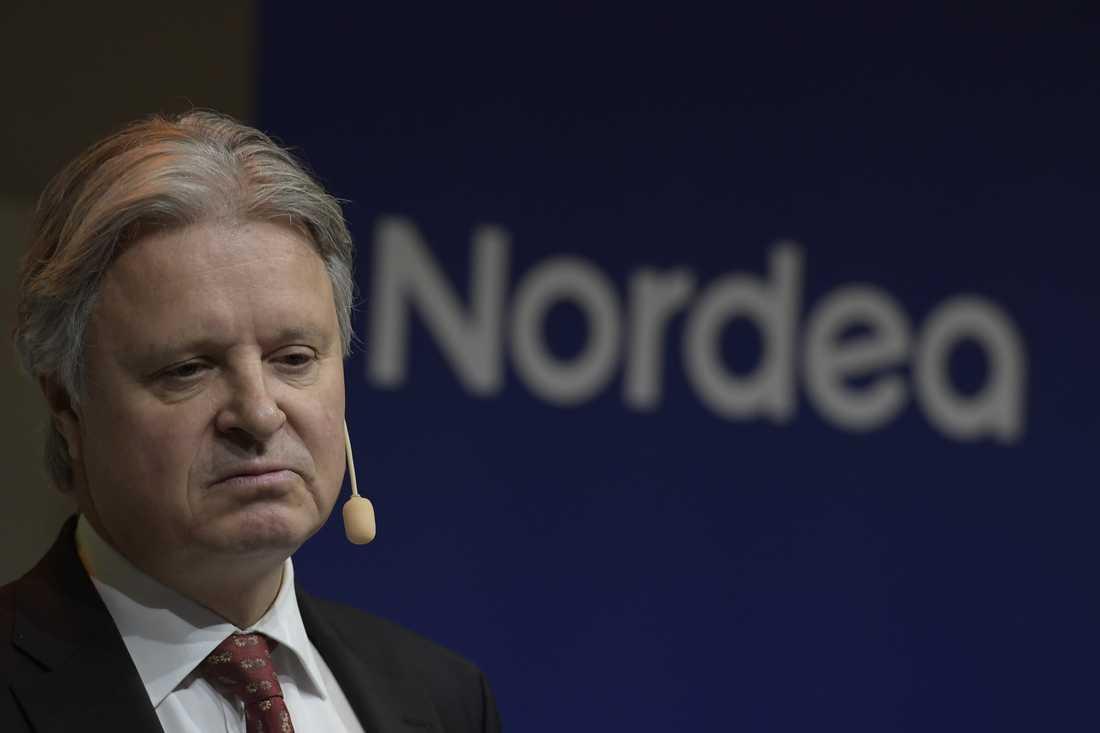 Nordeas vd Casper von Koskull har en byk att tvätta. Arkivbild.
