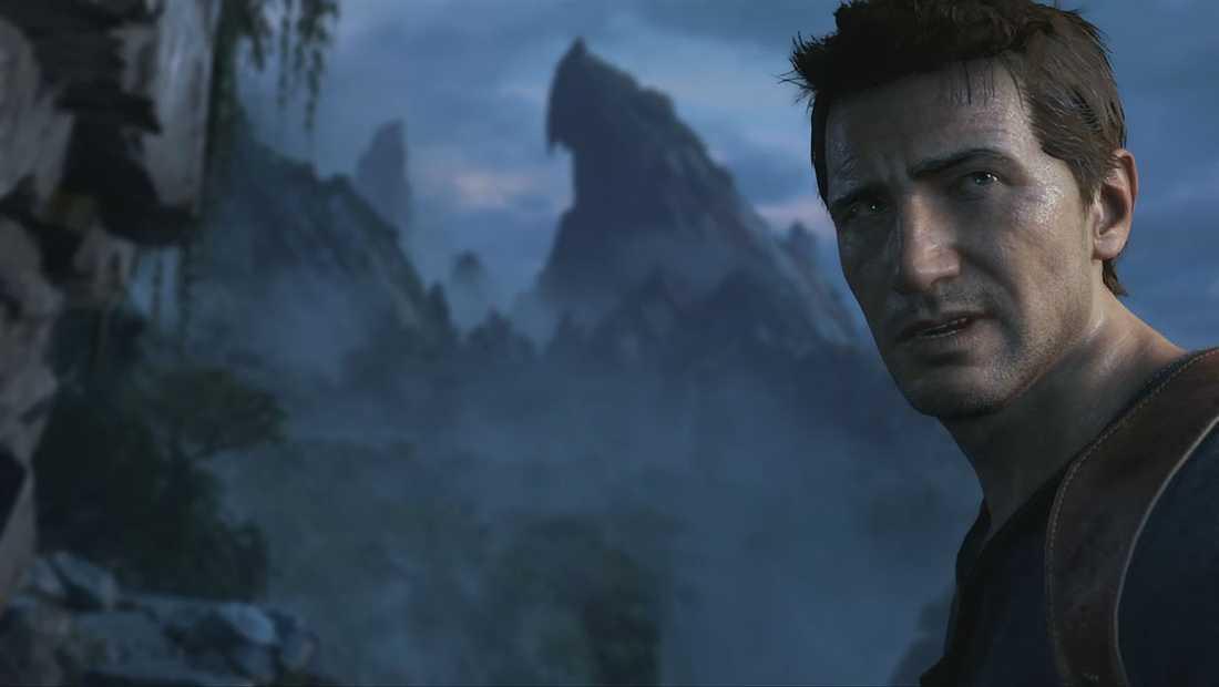 """Protagonisten Nathan Drake i """"Uncharted 4"""", som släpps 2016."""