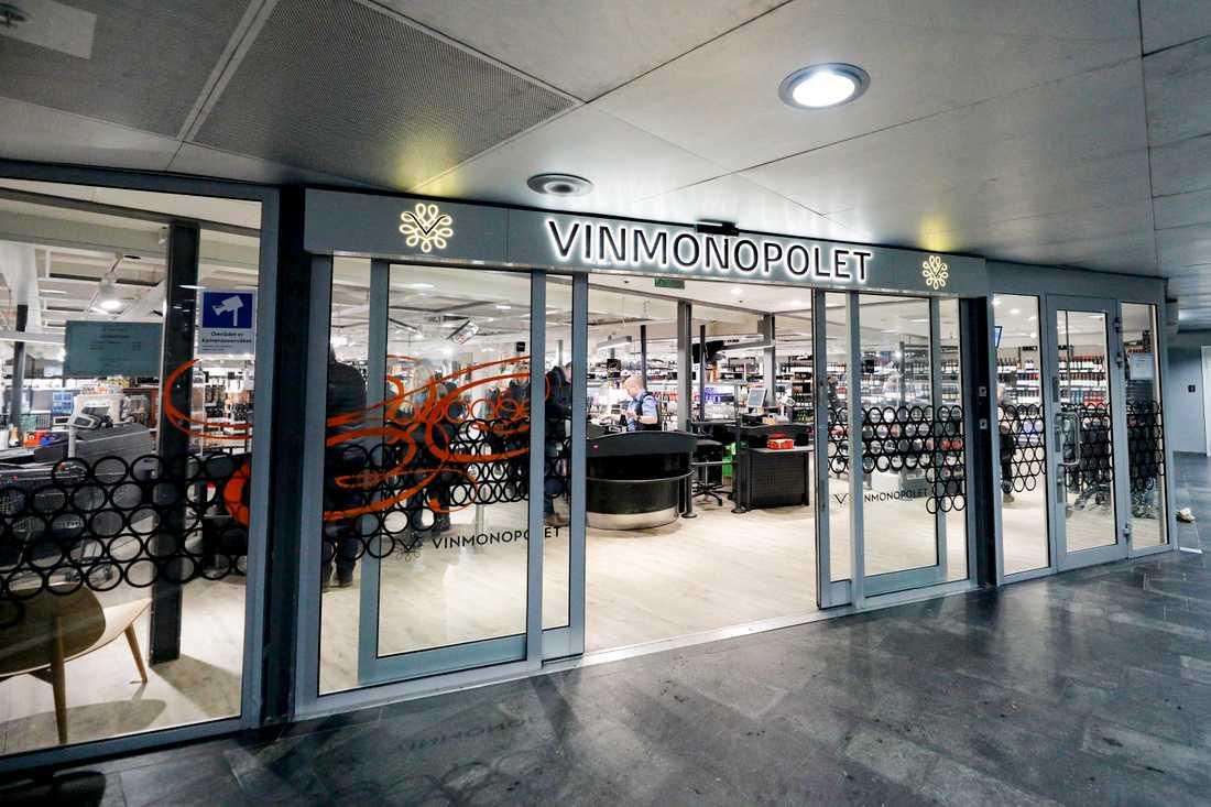 Vinmonopolet sålde 40 procent mer under 2020 än under 2019. Arkivbild.