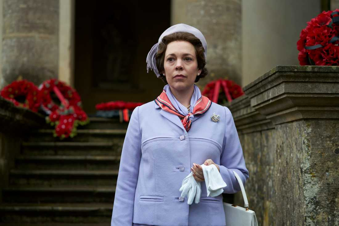 "Olivia Colman i ""The crown""."