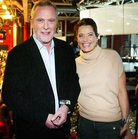 """Mannen har också jobbat för """"Fadergalan"""" med profiler som Bengt Magnusson och Agneta Sjödin."""