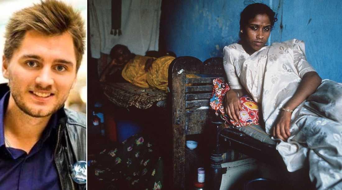 Indien är ett charmigt land. Men bakom dansen och den fängslande Bollywood-musiken finns en verklighet som skulle kunna skaka om en hel värld– sexslaveriet, skriver Jonatan Alfven.