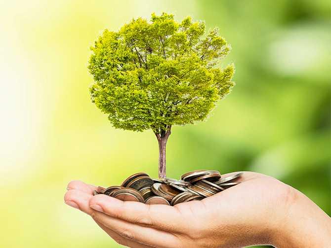 Många väljer att låta pengarna växa på ett  Investeringssparkonto.