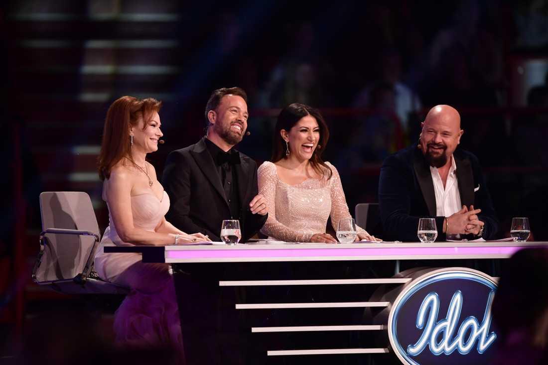 """""""Idol""""-juryn letar nu nya deltagare inför höstens säsong. Arkivbild."""