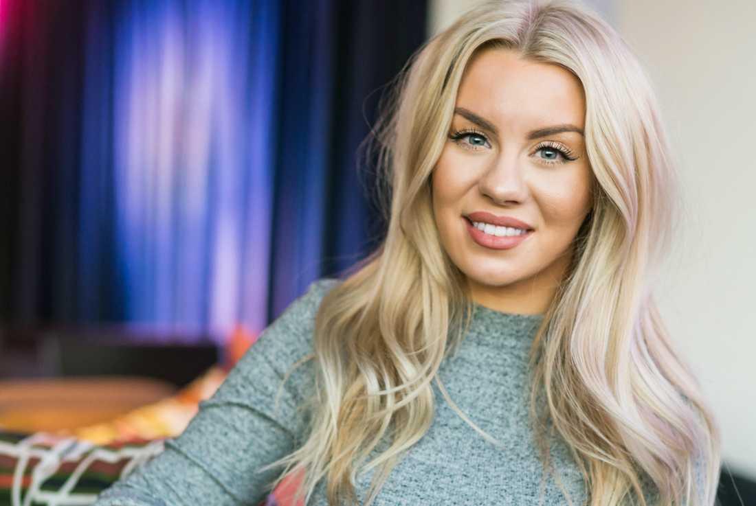 """Youtube-stjärnan Therese Lindgren är nominerad till """"Årets profil"""". Arkivbild."""