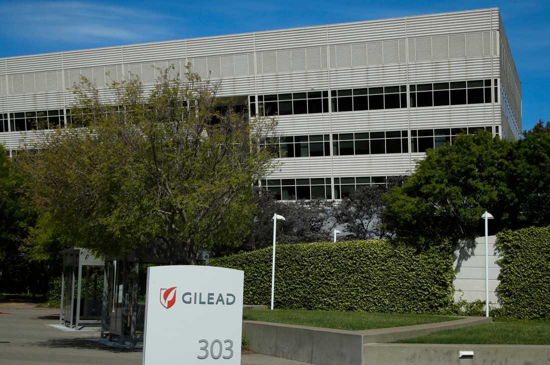 Läkemedelstillverkaren Gileads huvudkontor i Foster City, Kalifornien. Arkivbild.