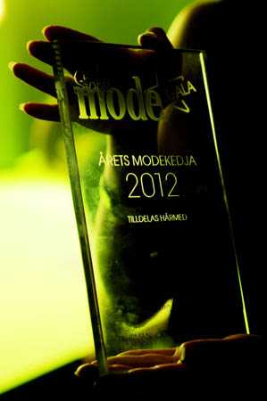 Vinnare av årets modekedja: Weekday. Grattis!