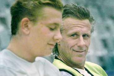 Robin och Björn Borg.